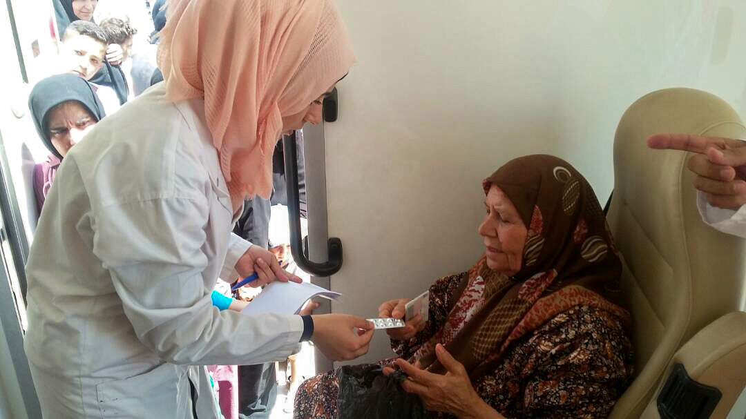 Medical clinic in Syria